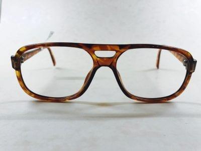1970s gold metal \'Visage Mod\' aviator mens frames | RetroSpecced